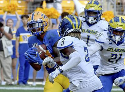COLLEGE FOOTBALL: Panthers barely avoid letdown vs. Delaware