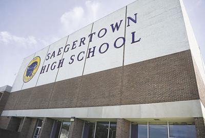 PENNCREST Pride brings new signage to Saegertown High   News