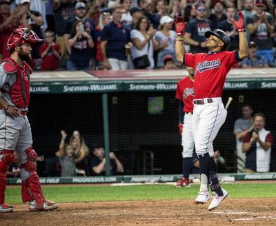 MLB: Kipnis, Lindor, Santana homer to lead Indians