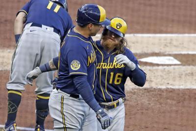 Brewers Pirates Baseball