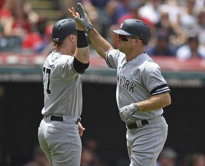 MLB: Yankees survive late errors to edge Indians