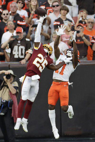 NFL: Browns' Callaway suspended four games by NFL for drug violation