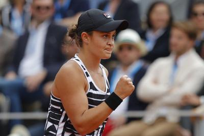 TENNIS: Ash Barty wins French Open final for first Grand Slam title