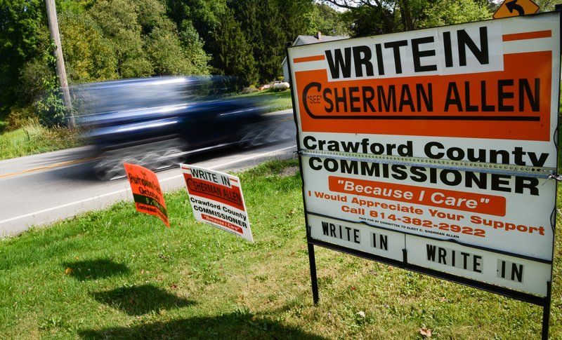 Spurred by voters in primary, County Commissioner Allen