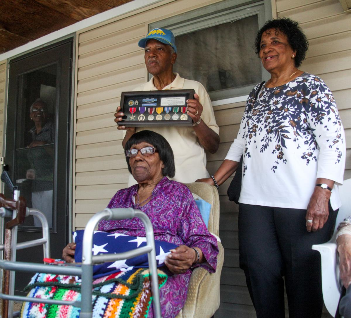 Family of Joseph Barksdale presented honors commemorating his heroic service 725b3c297