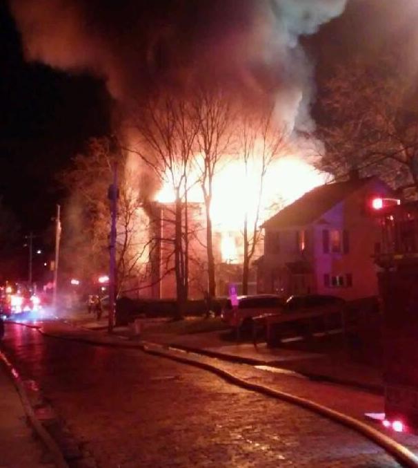 UPDATE: 1:47 p m : Man dies in Meadville apartment fire
