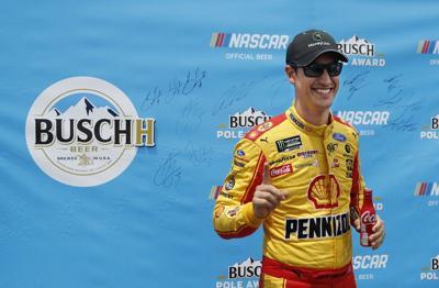 NASCAR: Joey Logano wins second Cup pole of the season