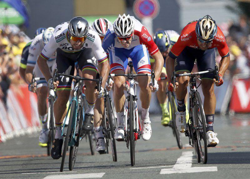 Cycling Sagan Wins Stage 2 In Tour De France National Sports Meadvilletribune Com