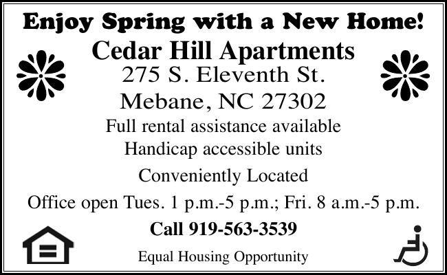 Cedar Hill Apartments