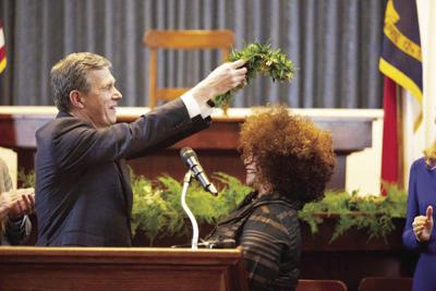 Jaki Shelton Green Inducted NC's Poet Laureate by Governor Cooper