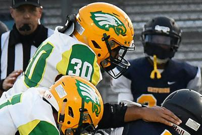 Eagles looking for new leaders on defensive side this fall