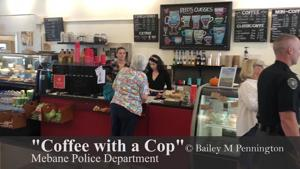 """Coffee with a Cop"" showcases Mebane PD music talents"