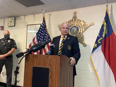 Alamance County Sheriff comments on prostitution operation in Mebane