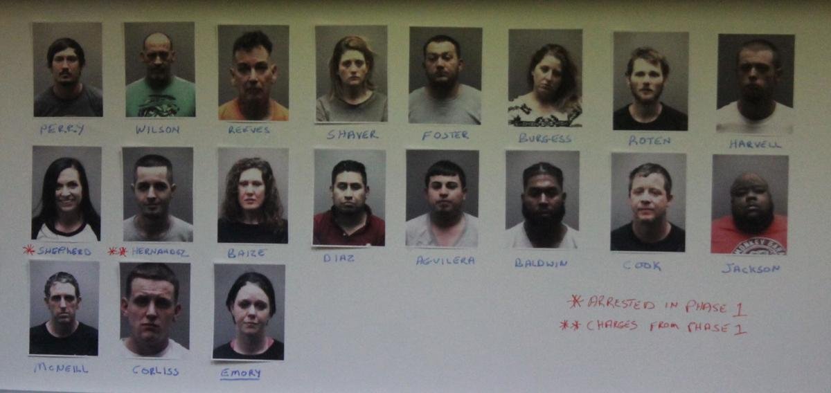 Mebane man among 19 busted in