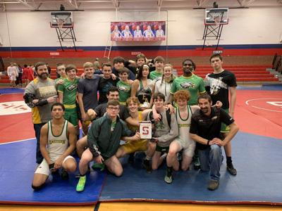 Eastern wrestling earned third place finish at local tournament