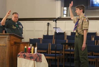 Whitney receives Boy Scout Summit Award