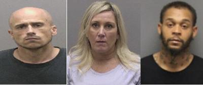 Local authorities make arrests for drug offenses, credit card fraud