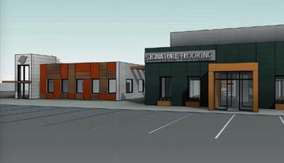 New office space/restaurant comings to Mebane Oaks Road