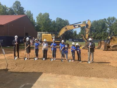 ABSS hosts ceremony to begin construction at South Mebane Elementary