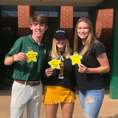 Eastern High 2021 athletics standouts sign with in-state schools