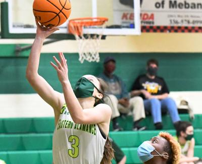 Eagles knock off Southeast Guilford, 59-44, in second round of state playoffs