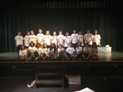 Middle school students performing popular musical Thursday, Friday, and Saturday