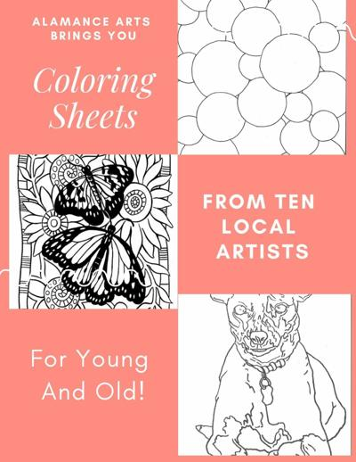 Alamance Arts offers Coloring Pages for residents
