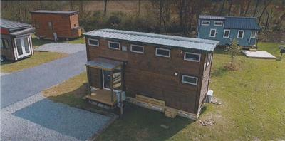 """Haw River to get 13 """"tiny homes"""" on 30-acre property along Highway 54"""
