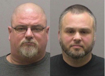 Graham Courthouse incidents lead to two arrests