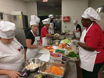 Mebane elementary school welcomes region's school nutrition managers
