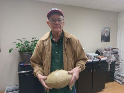 Local resident donating signed 1958 football to Air Force Academy