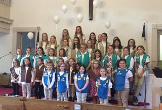 Girl Scouts recognized at local ceremony