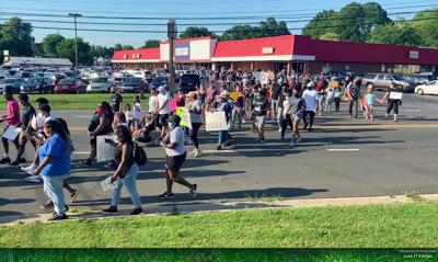 Local march brings together members of local community