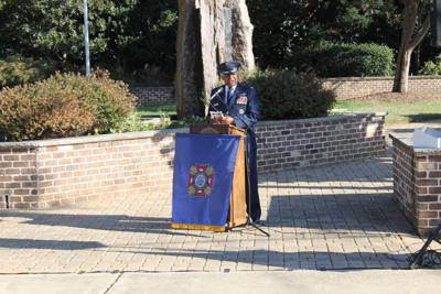 Vietnam P.O.W. serves as Honored Speaker at Veteran's Day event
