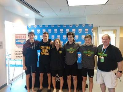 Eastern swimming competes in NCHSAA 3A state championships