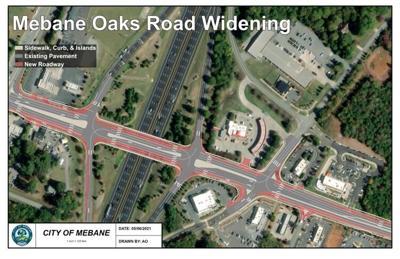 Mebane Oaks Road project