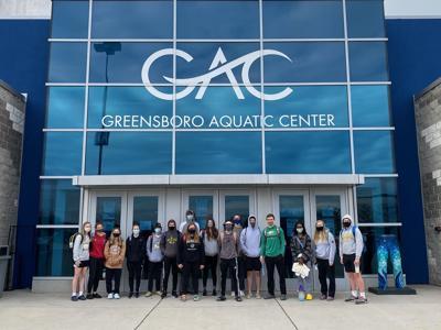 Eastern High swimming participates in Regionals at Greensboro Aquatic Center