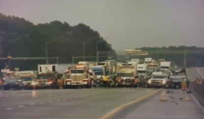Orange County crashes stop traffic in Mebane Saturday evening