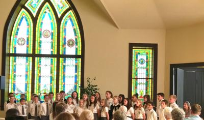 Hymns, words of reflection highlight National Day of Prayer event
