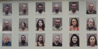 Sheriff's Office announces 18 drug arrests in