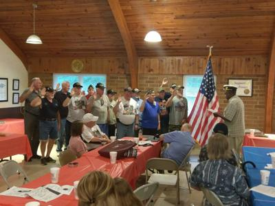 Local veteran's group introduces this year's new officers
