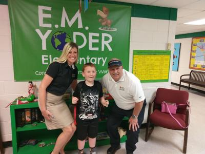 Yoder kindergartner uses training to call 911 in fire