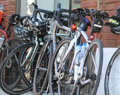 Sidewalk bicycling allowed through much of Mebane