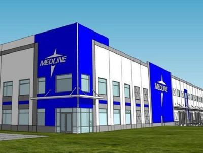 Medline Industries investing $65.3 million in Mebane site