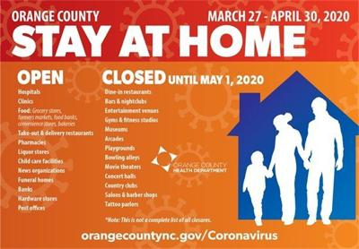 Orange County issues stay-at-home order starting Friday