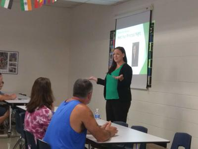 Yoder Elementary School hosts welcome for new principal