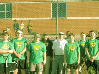 Eagles men's tennis season concludes
