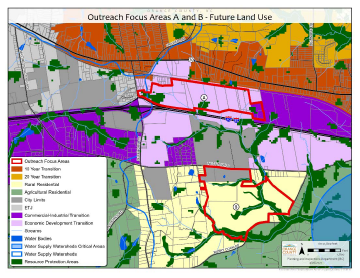 Buckhorn Area Study Areas A and B