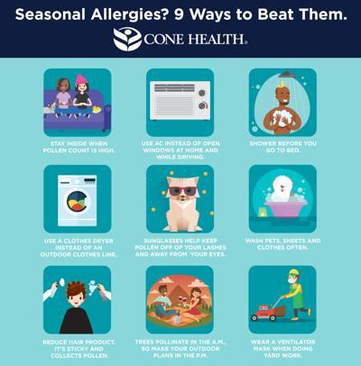Tricks to combat allergy season