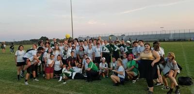 Eagles band wins first competition at McMichael High School